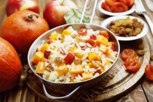 Apple and Almond Rice Pilaf