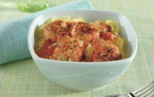 Turkey Meatballs with Spaghetti Squash