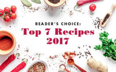 Readers' Choice: 2017 Most Popular Recipes