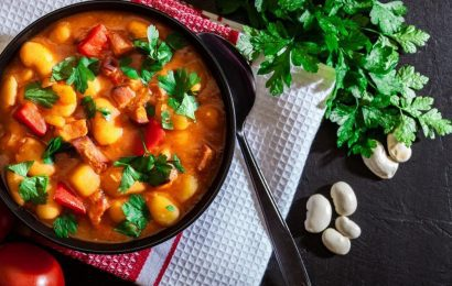 Southwest White Bean Stew