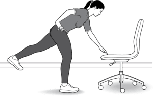 Single Leg Standing Forward Reach