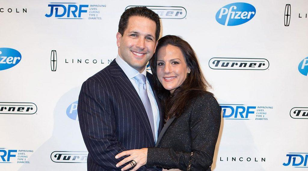 Schefter and wife Sharri Maio