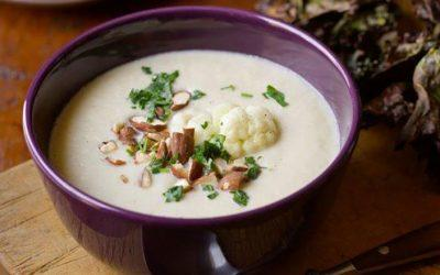 Cauliflower Almond Soup – Stack's Holiday Favorite