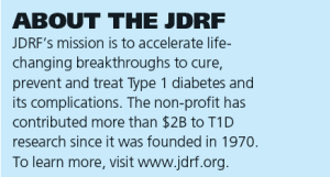 About the JDRF
