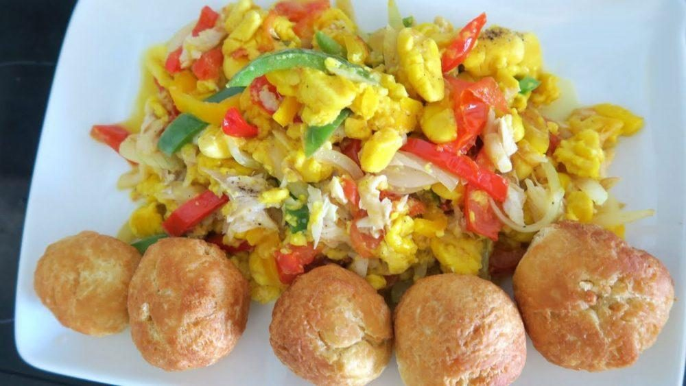 Ackee and Salt Fish