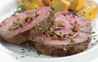 Holiday Stuffed Beef Tenderloin