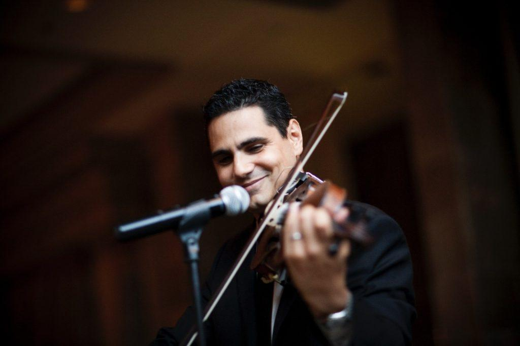 Researcher Spotlight-Nestoras Mathioudakis-violin