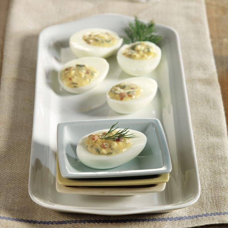 Angelic Deviled Eggs