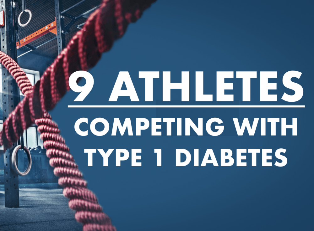 9 athletes competing with type 1 diabetes
