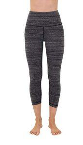 High Waist Cotton Power Flex Capri