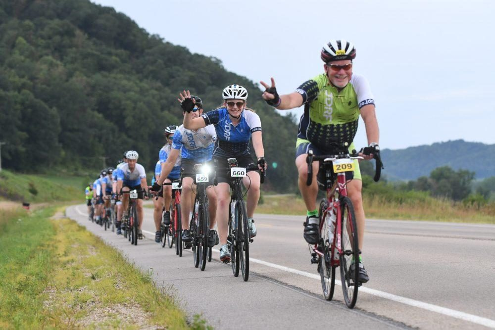 More than 660 riders participated in this year's La Crosse, Wisconsin, Ride to Cure Diabetes ride. (photo: JDRF)