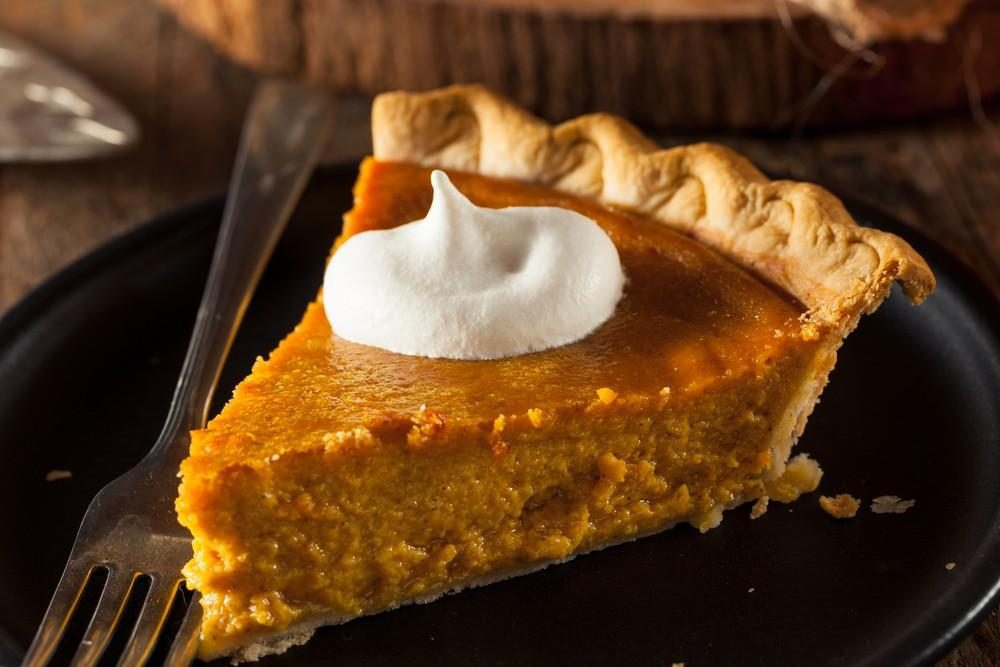 Creamy Pumpkin Pie for diabetic Thanksgiving desserts