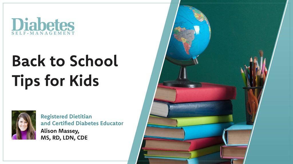 Tips: Back to School With Diabetes