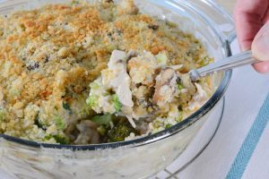 Turkey Mornay Casserole