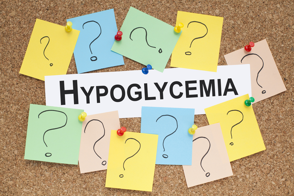 Term hypoglycemia surrounded by question marks -- What Is Hypoglycemia? Symptoms and Treatments