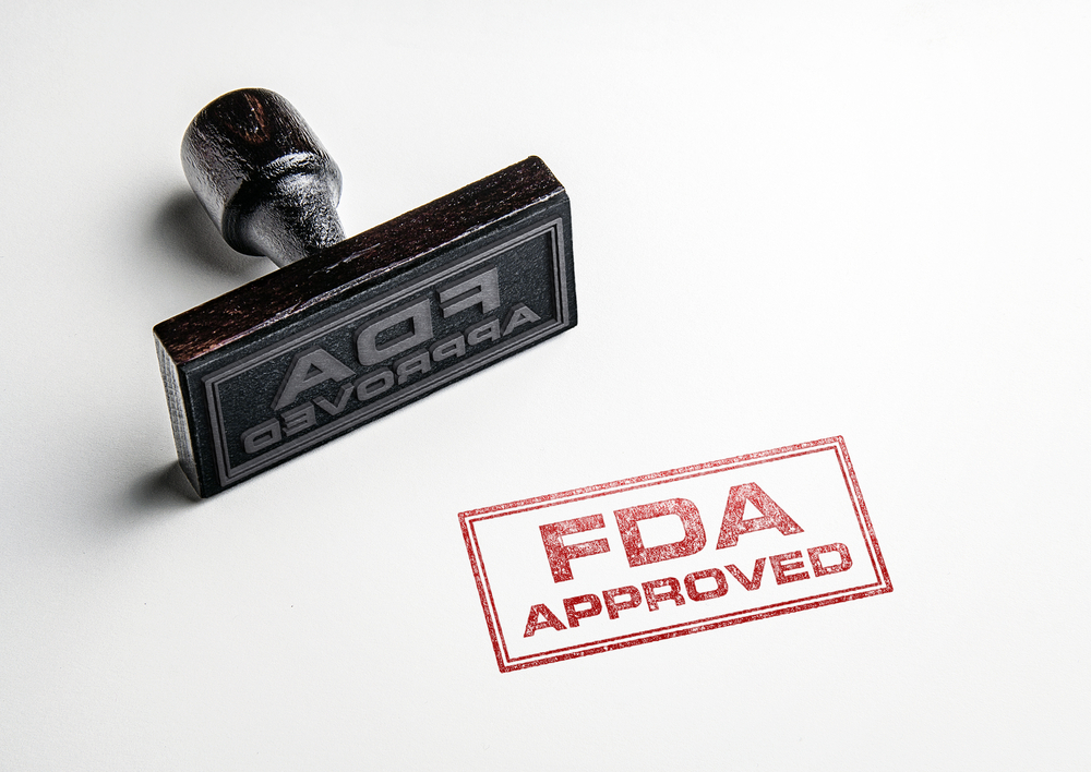 FDA approval stamp -- Fiasp Insulin Approved for Pumps for Type 1 and Type 2 Diabetes