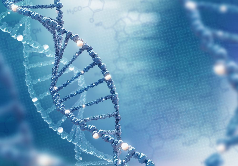 DNA helix -- Genetic Testing May Help Prevent Early Type 1 Diabetes Hospitalization