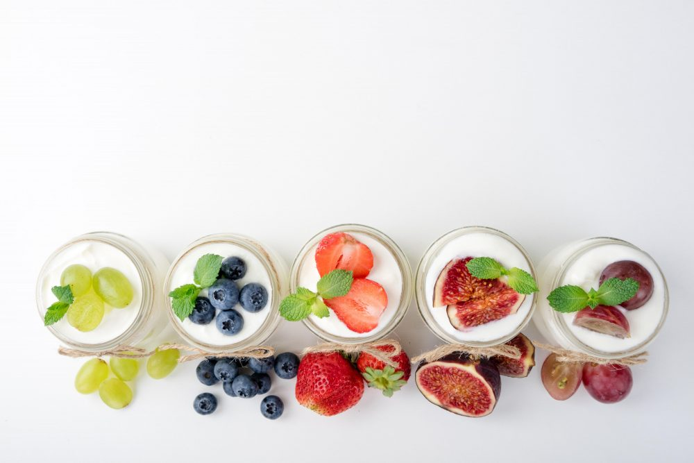 Yogurts with various fruit toppings -- Yogurt Nutrition Facts