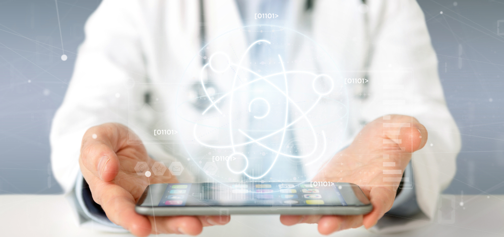 Doctor holding tablet -- Top Diabetes Discoveries and Developments Over the Past Decade