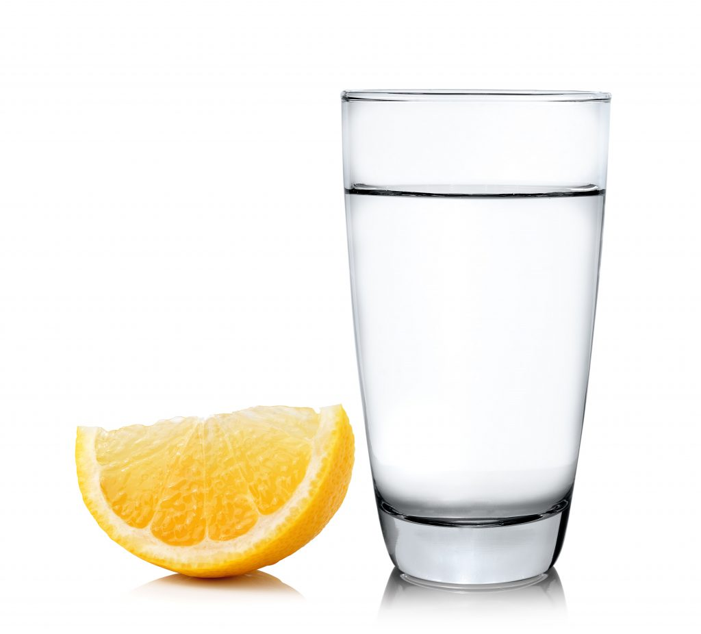 Glass of water with lemon -- The Anti-Kidney Stone Diet