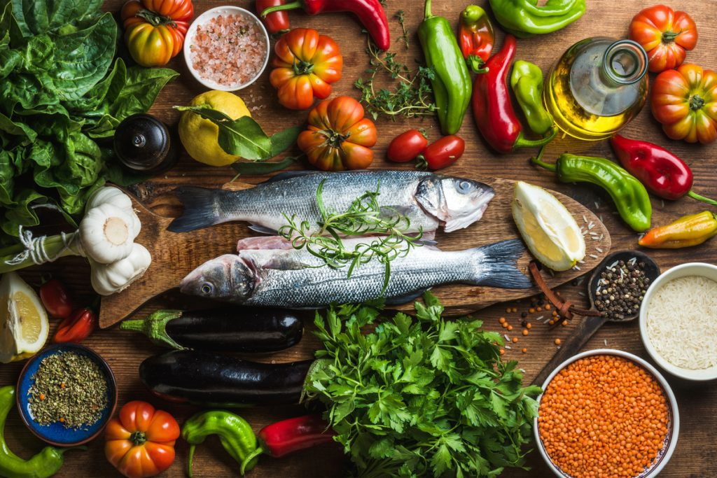Mediterranean diet foods -- U.S. News Ranks Best Diets for 2020