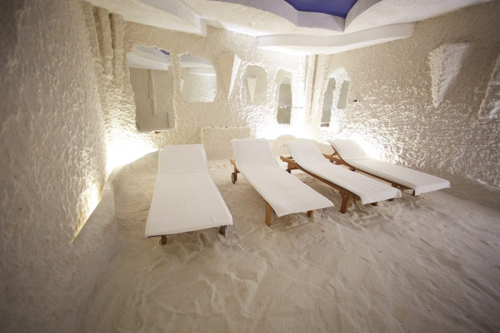 Halotherapy room -- Halotherapy and Float Therapy: Are They Safe and Effective?