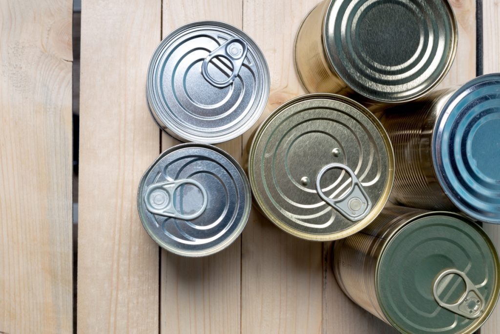Canned foods -- Coronavirus: Healthy Eating During Hard Times