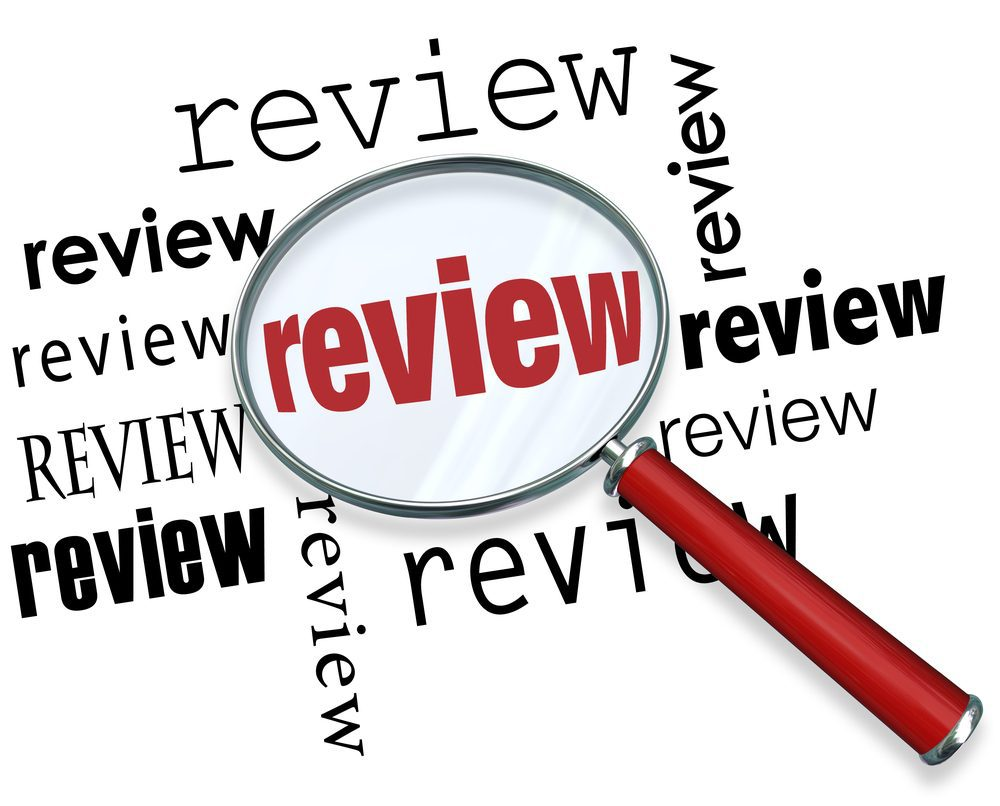 Magnifying glass over word review -- Product Review: Weekly Meal Planner