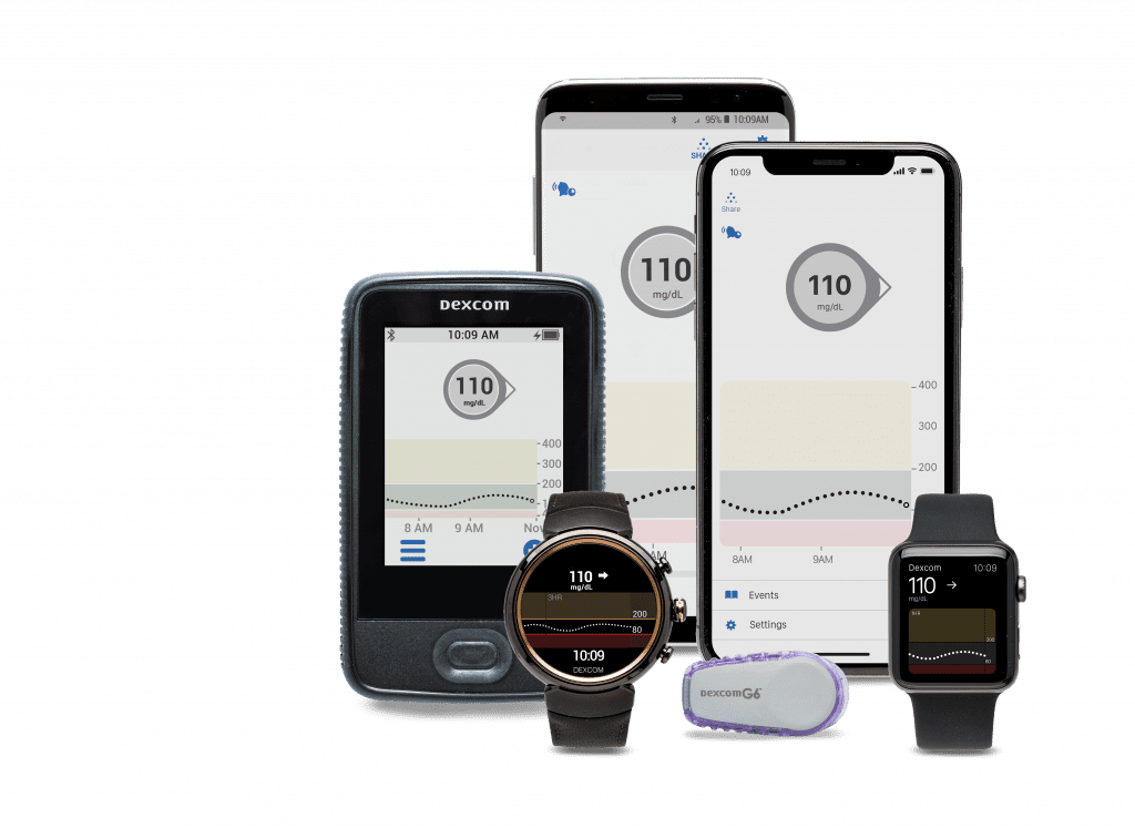Dexcom G6 family -- Continuous Glucose Monitoring Updates