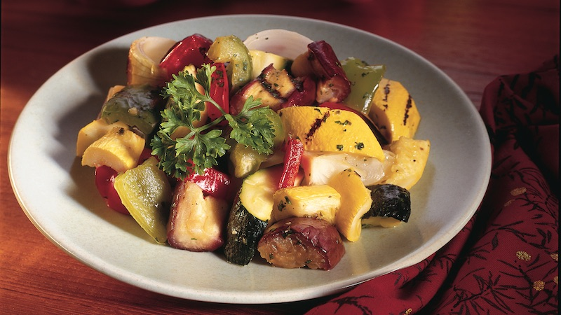 Santa Fe Grilled Vegetable Salad