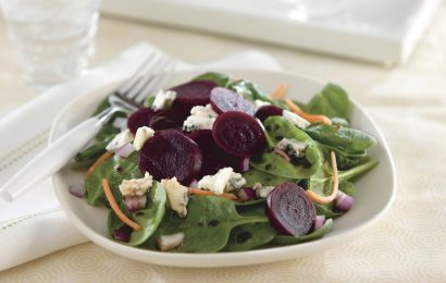 Beet and Blue Salad