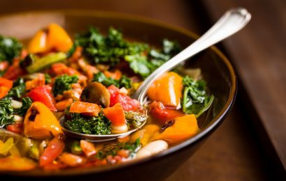 Chef Robert's Roasted Vegetable Soup