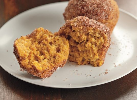Pumpkin Spice Mini Donuts
