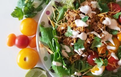 Quick 'n Healthy Taco Salad