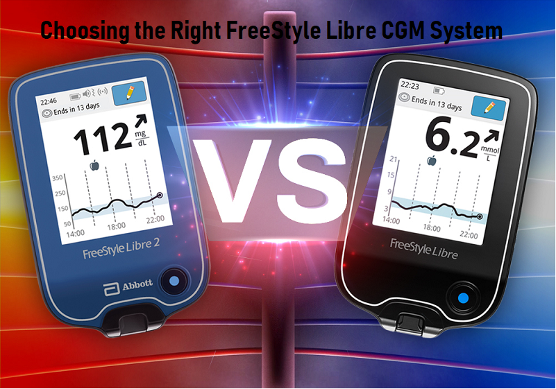 Understanding the Differences Between the FreeStyle Libre and the FreeStyle Libre 2