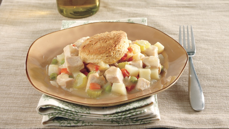 Quick Turkey Pot Pie