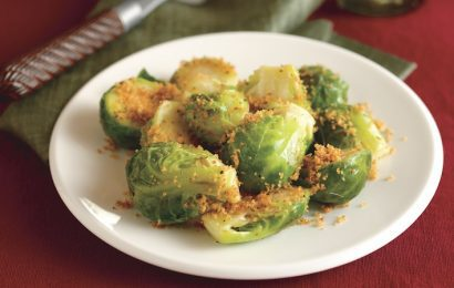 Brussels Sprouts With Lemon Crumbs