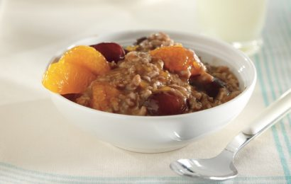 Cherry-Orange Oatmeal