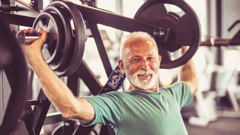 Strength Training Shows Benefits in Older Men and Women