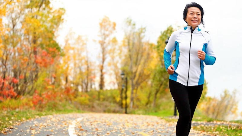 Exercise and Dietary Habits in Midlife May Affect Health in Older Age