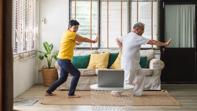 Tai Chi May Reduce Belly Fat in Older Adults
