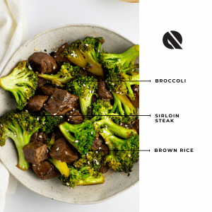 DishQuo App, Beef and Broccoli