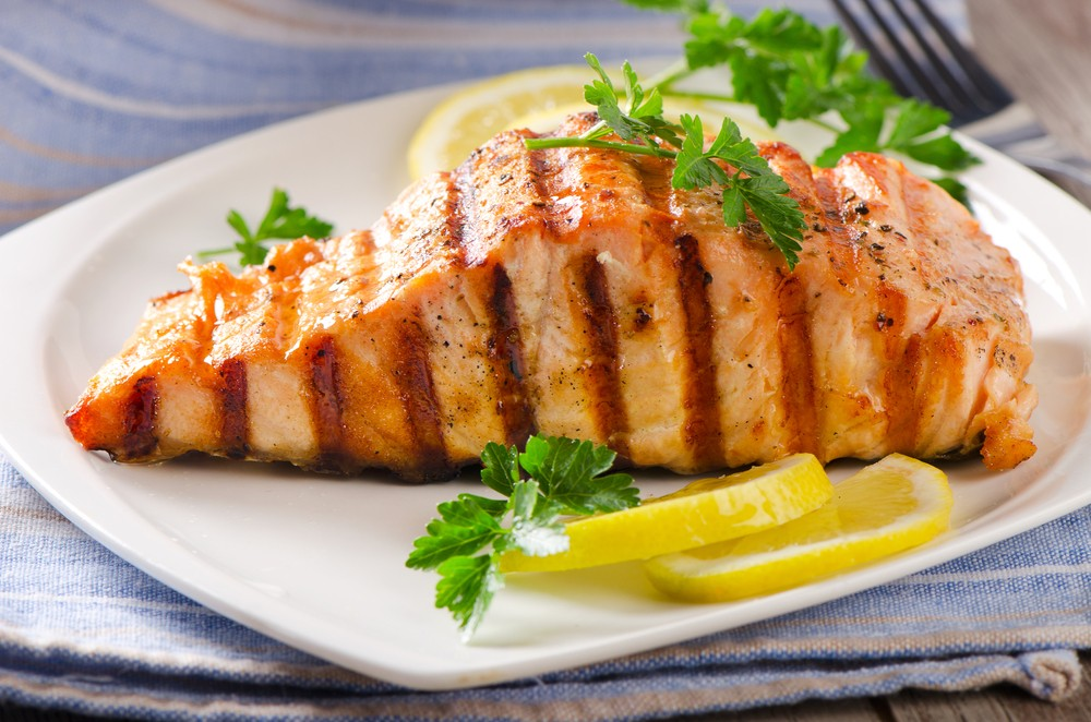 Simple Grilled Salmon for Diabetics